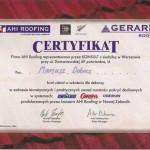 certyfikat-AHI-Roofing